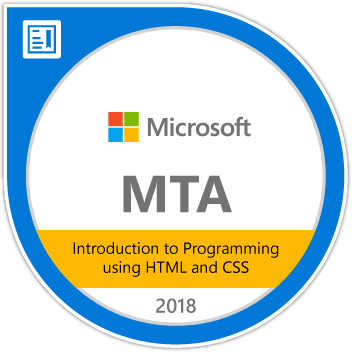 MTA-Introduction-to-Programming-using-HTML-and-CSS-2018